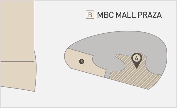 MBC Mall Plaza 2층  설빙 위치
