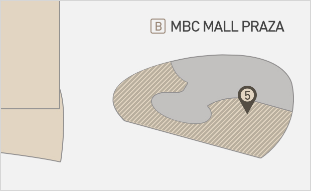 MBC Mall Plaza 3층   무스쿠스 위치